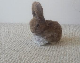 Needle felt rabbit