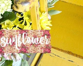 Sweet Pickins Milk Paint - Sunflower