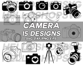 camera svg, digital camera svg, photography svg, tripod svg, photo taking svg, vinyl, iron on, silhouette, stencil, eps, png, decal
