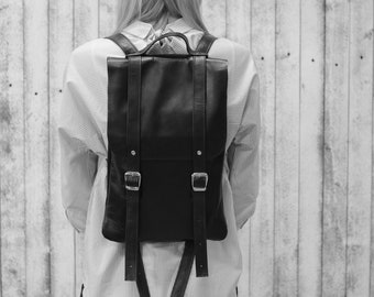 LEATHER BACKPACK / Leather bag / backpack / leather backpack women / laptop bag / Leather / Womens backpack / black Backpack / backpacks