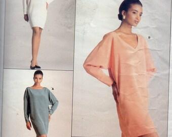 Vogue Calvin Klein Dress Pattern  Sizes 6-12   Vintage 1988 Uncut