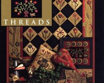 Folk Heart Threads by Need'l Love - SALE - OOP