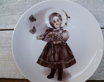 "Briarcrest Great Grandma's Doll ""Ann"" Collectors Plate"