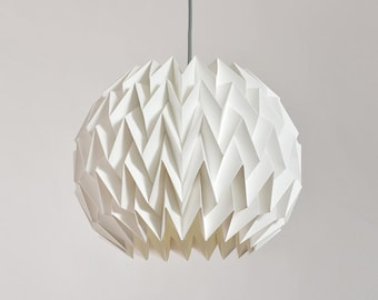 BREEZE Paper Origami Lampshade U2013 White