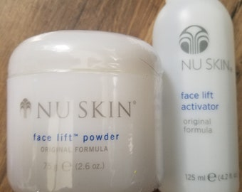 Nu Skin Face Lift Powder /w Activator Original Formula Wrinkle Remover Amazing Really Works