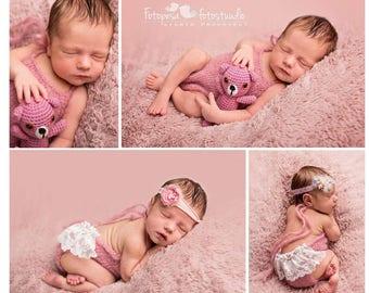 Newborn Girl Photo Outfit, Baby Girl Photo Props, Baby Photo Prop, Baby Girl Prop, Baby Girl Shower Gift, Newborn Photo Props, Newborn Girl