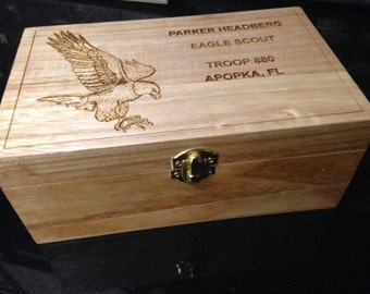 Scout Eagle Large Memory Box