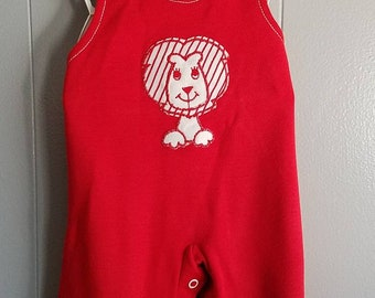 Vintage Red Lion Overalls
