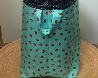 Ladybug Bucket Basket