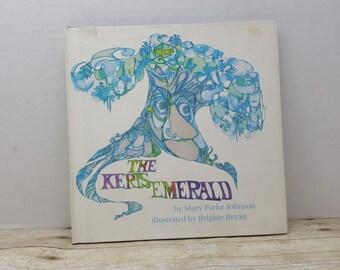The Keris Emerald, 1970, Mary Parke Johnson, Brigette Bryan, vintage kids book