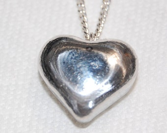 HEART PENDANT & CHAIN