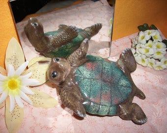 Turtle, ceramic