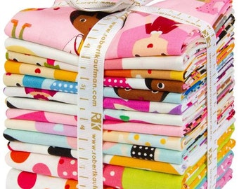 209287 Fat Quarter fabric bundle Best Friends Bundle Robert Kaufman