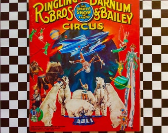 c1980 110th  Edition SOUVENIR Ringling Bros Barnum Bailey CIRCUS Program