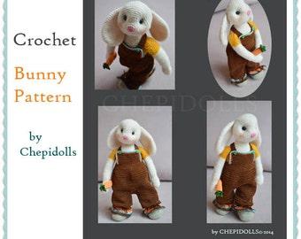 PATTERN Crochet Bunny Pattern Instand Download