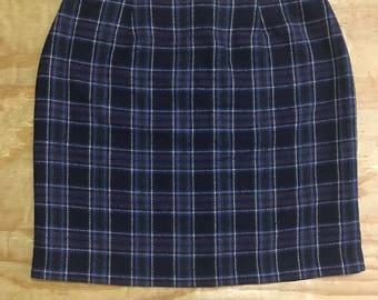Plaid 'School Girl' Skirt