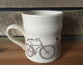 Bike Love Ceramic Mug