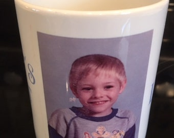 The Absoulte Best Gift is a Personalized Coffee or Tea Mug with any Photograph or Wording with Bonus Gift Box with Tissue and FREE Shipping