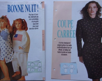 patterns sewing passion - suit for women and sleepwear children REF.  7