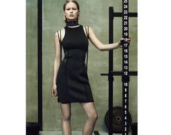 Alexander Wang for Hm Size 36 (Eu) 40 (en) 34 (DE) 6 (US)-Black-Neoprene (Polyester)