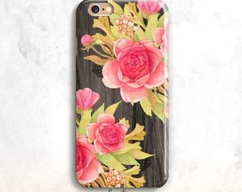 Floral iPhone 8 Case, Flowers iPhone 7 Case,iPhone 8 Plus Case,Floral iPhone 6 Plus,iPhone SE Case,Floral iPhone 6 Case,Floral iPhone 7 Plus
