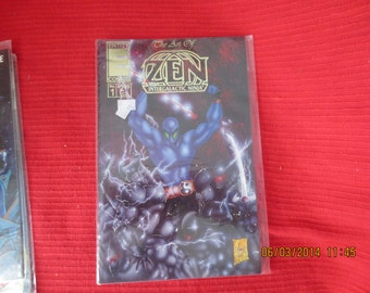 ART of ZEN # 1 ENTITY Bagged Mint Never Opened