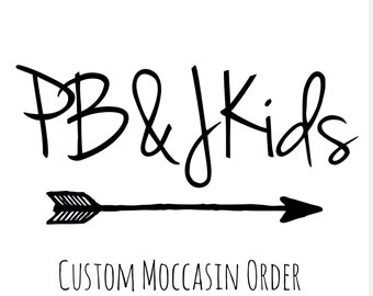 Customized Moccasins Baby Shoes