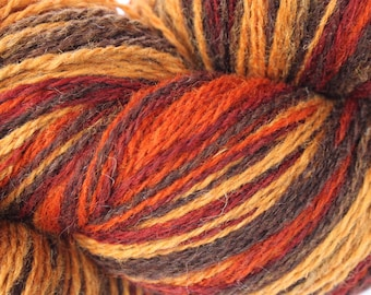 KAUNI Estonian Artistic Gradient Yarn Rusty 8/2, Art Wool  Yarn for Knitting, Crochet