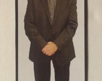"Flat Ronnie Magnet 10"" x 4"" Howard Stern Show Mund Refrigerator SHIPS FAST!!"