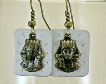 Steampunk Pharaoh Earrings