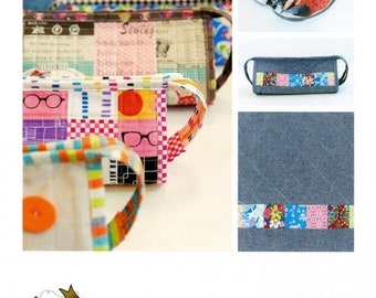 ON SALE Sew Together Bag Pattern by Sew Demented
