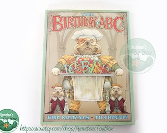 The Birthday ABC Book Hardcover with Dust Jacket 1995