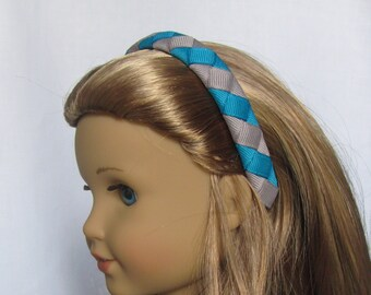Made to Match McKenna Doll Headband - Matches the outfit McKenna Wears - Woven Doll Headband