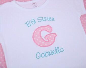Big Sister Shirt - Big Sis Shirt - Big Sister T Shirt - Big Sis T Shirt - Big Brother Shirt