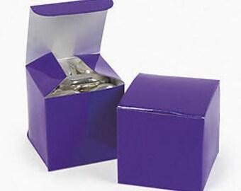 Purple Favor boxes-12 EA.
