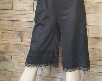 Black bloomers/Black undergarment/long underwear/
