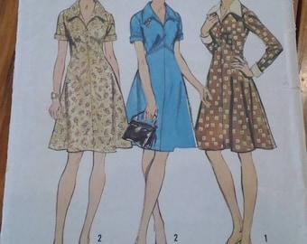 1973 dress sewing pattern