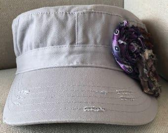 Tri-flower cadet Hat
