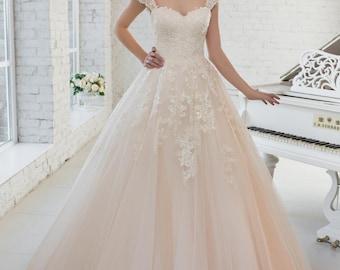 Wedding dress wedding dress bridal gown FLORENCE