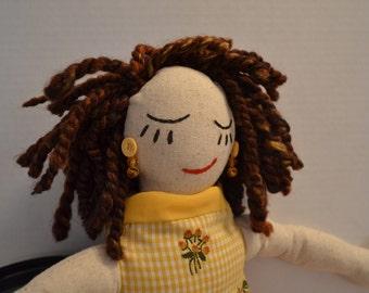 Stuffed Cloth Doll