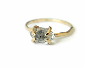 Engagement Ring, Diamond Engagement Ring, Engagement Rings for Women, Gold Engagement Ring, 14K Gold Ring
