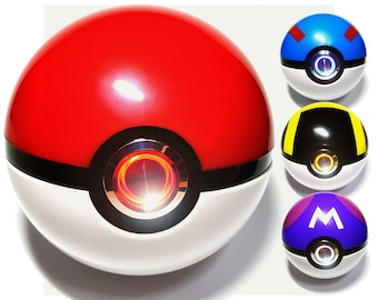 Realistic Pokeball Light-up, Pokemon cosplay must have