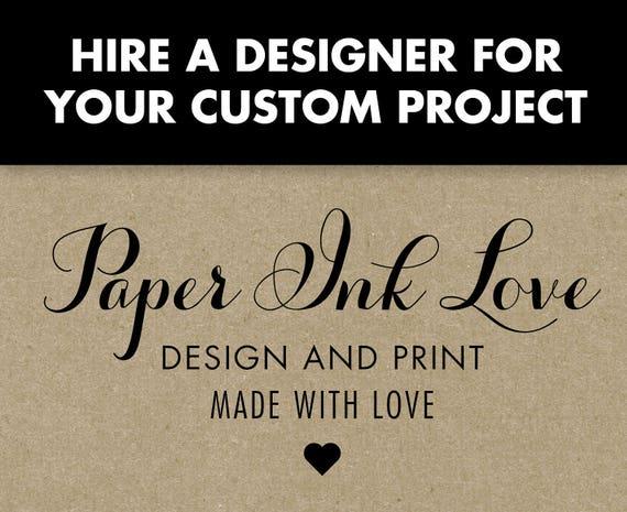 Custom Graphic Design and Printing - Hire a Professional Graphic Designer!