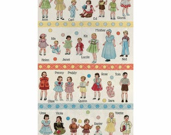Hop Skip and a Jump, American Jane for  MODA Fabrics - 1/2 yard