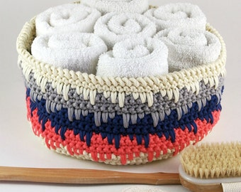 Crochet Pattern Himalayan Basket Container PDF 16-257