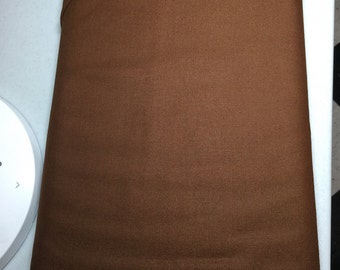 Kona Cotton Solids Chestnut
