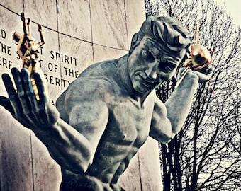 Detroit Photography - Spirit of Detroit