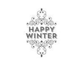 Wintertime (Wood) - Stampin Up