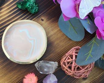Jewelry Dish - handmade Polymer Clay, Ring Dish, Trinket Dish, Jewelry Holder