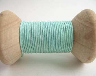 5 m cord nylon pale turquoise 1 mm